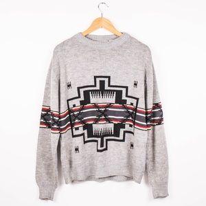 Vintage Hardwood and Pine Southwestern sweater